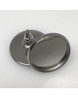 Oorsteker Anique Silver Plated