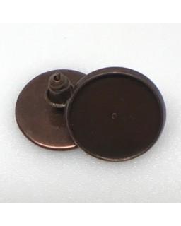 Oorsteker Antique Copper Plated