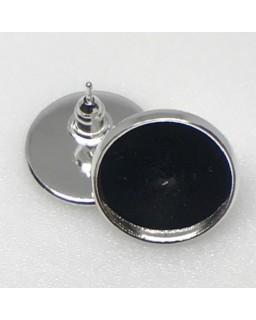 Oorsteker Silver Plated