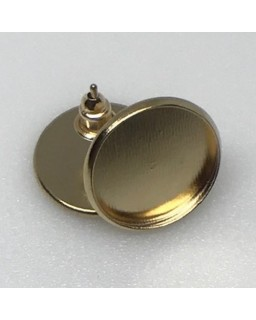 Oorsteker Gold Plated