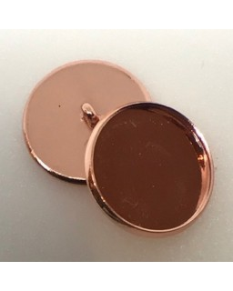 knoopje Copper plated
