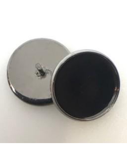 knoopje Black Nickel plated
