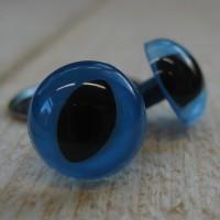 Kattenogen 14 mm Blauw