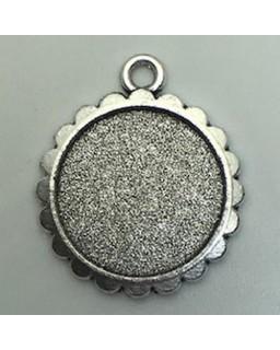Hangertje 04 Antique Silver