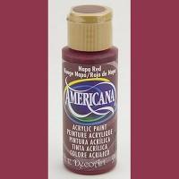 Americana Nappa Red