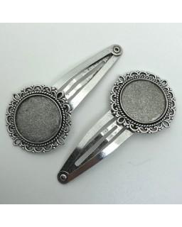 Haarspeld 03 Silver