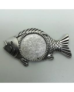 Broche 01 Silver