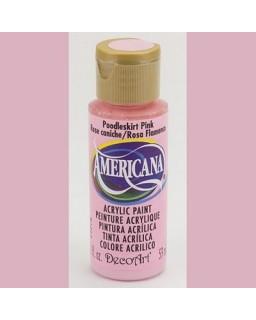 Americana Poodleskirt Pink