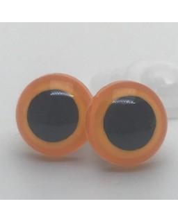 Veiligheidsoogjes 6mm Oker