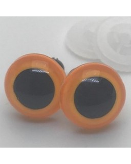 Veiligheidsoogjes 13,5mm Oker
