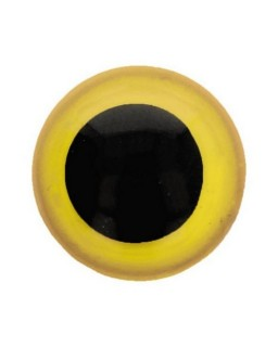 Berenoogjes 6mm Geel