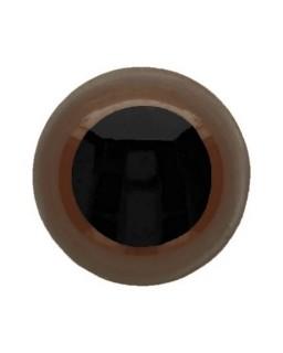 Berenoogjes 6mm Bruin