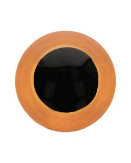 Berenoogjes 8mm Oranje