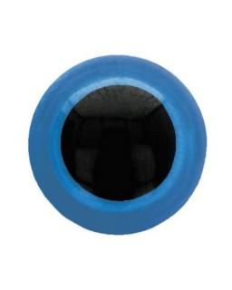 Berenoogjes 10mm Blauw
