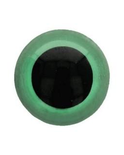 Berenoogjes 12mm Groen