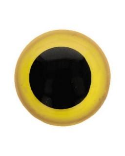 Berenoogjes 12mm Geel
