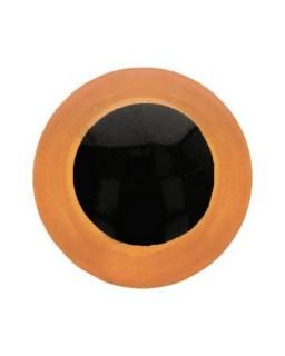 Berenoogjes 12mm Oranje