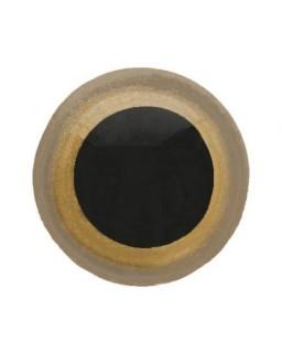 Berenoogjes 12mm Goud