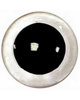 Veiligheidsogen 16,5mm Kristal