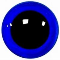 Veiligheidsogen 20mm Blauw