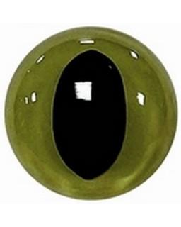 Kattenogen 14mm Groen