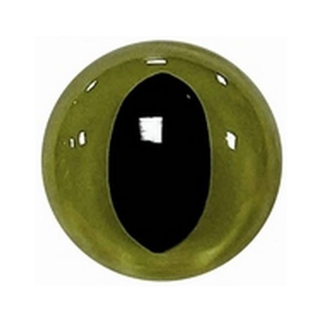 Kattenogen 15mm Groen