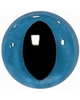 Kattenogen 14mm Blauw