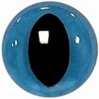 Kattenogen 15mm Blauw