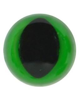 Poezenoogjes 12mm Groen