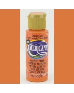 Americana Orange Flame