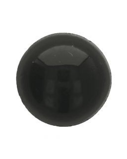 Oogjes Zwart Rond 6mm