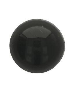 Oogjes Zwart Rond 12mm