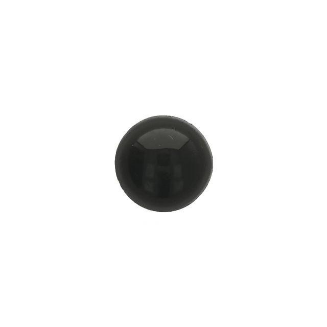 Oogjes Zwart Rond 14mm