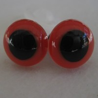 veiligheidsoogjes 10mm rood
