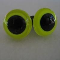 veiligheidsoogjes 12mm lemon