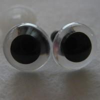 veiligheidsoogjes 13.5 mm kristal
