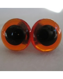 veiligheidsogen 16,5mm amber