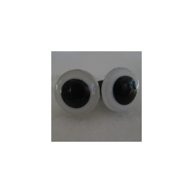 veiligheidsoogjes 16,5mm wit