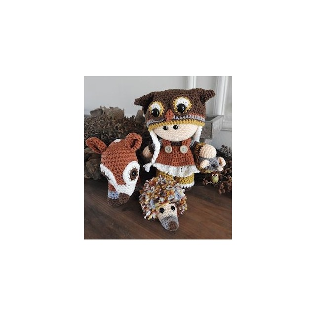 funny Owl set