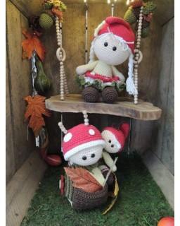 Funny Mushroom set