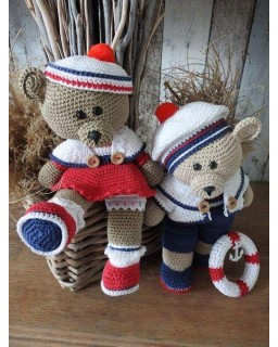 Funny bears Rody en Amy