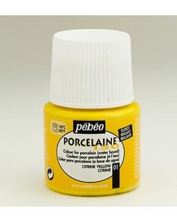 PeBeo Porcelaine 150 Glossy citrine yellow