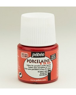 PeBeo Porcelaine 150 Glossy Scarlet Red