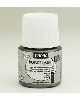 Porcelaine 150 - Metallics - Pewter