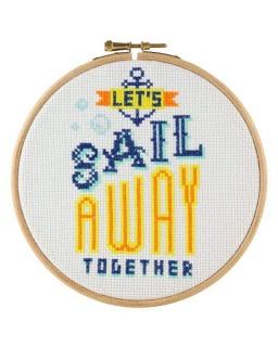 Stitchonomy 15 cm Sail Away