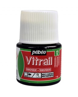 Vitrail Tansparent Crimson