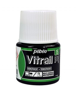 Vitrail Tansparent Black