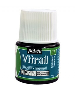 Vitrail Tansparent Turquoise