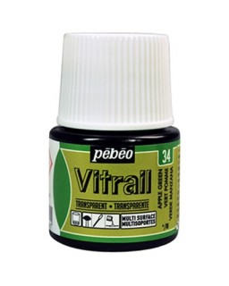 Vitrail Transparent Apple Green