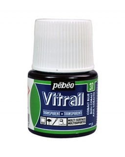 Vitrail Transparent Cobalt Blue